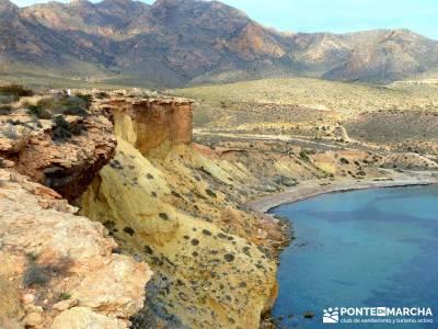 Calblanque y Calnegre - Cabo Tiñoso; ruta de senderismo; rutas de trekking;rutas de senderismo por